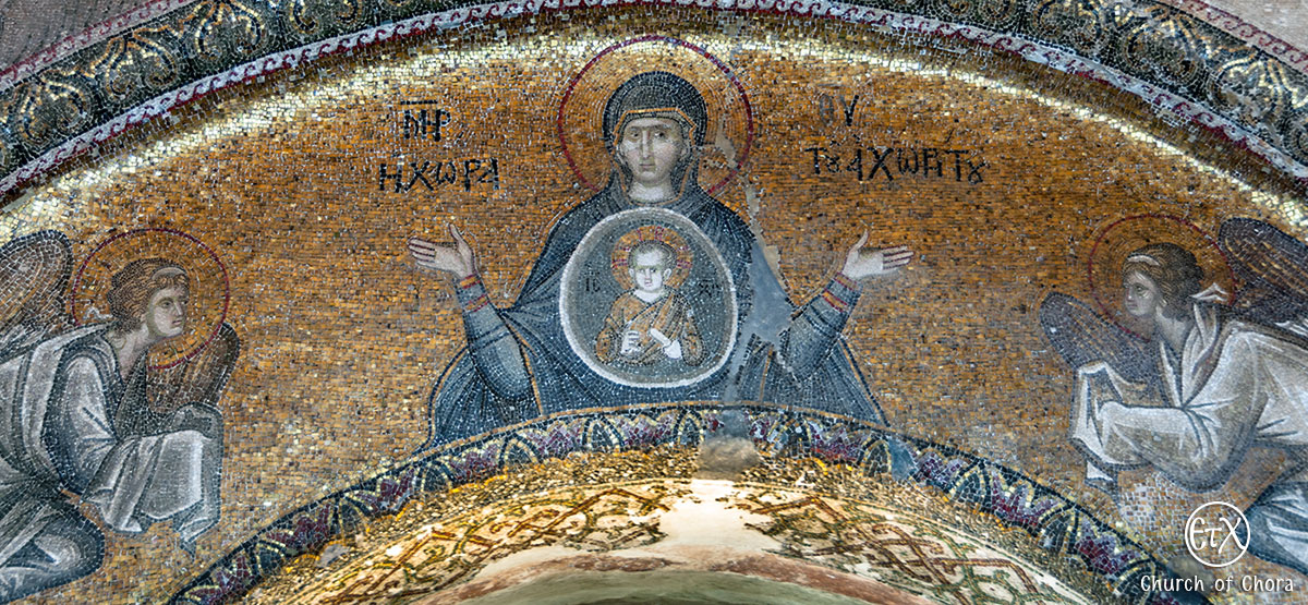Chora Museum (Chora Church) in Istanbul, Virgin Mary