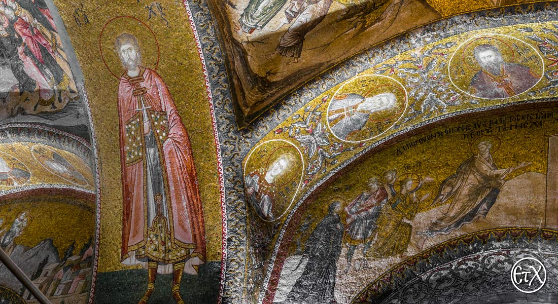 Church of Chora, saint Tarahos, other saints